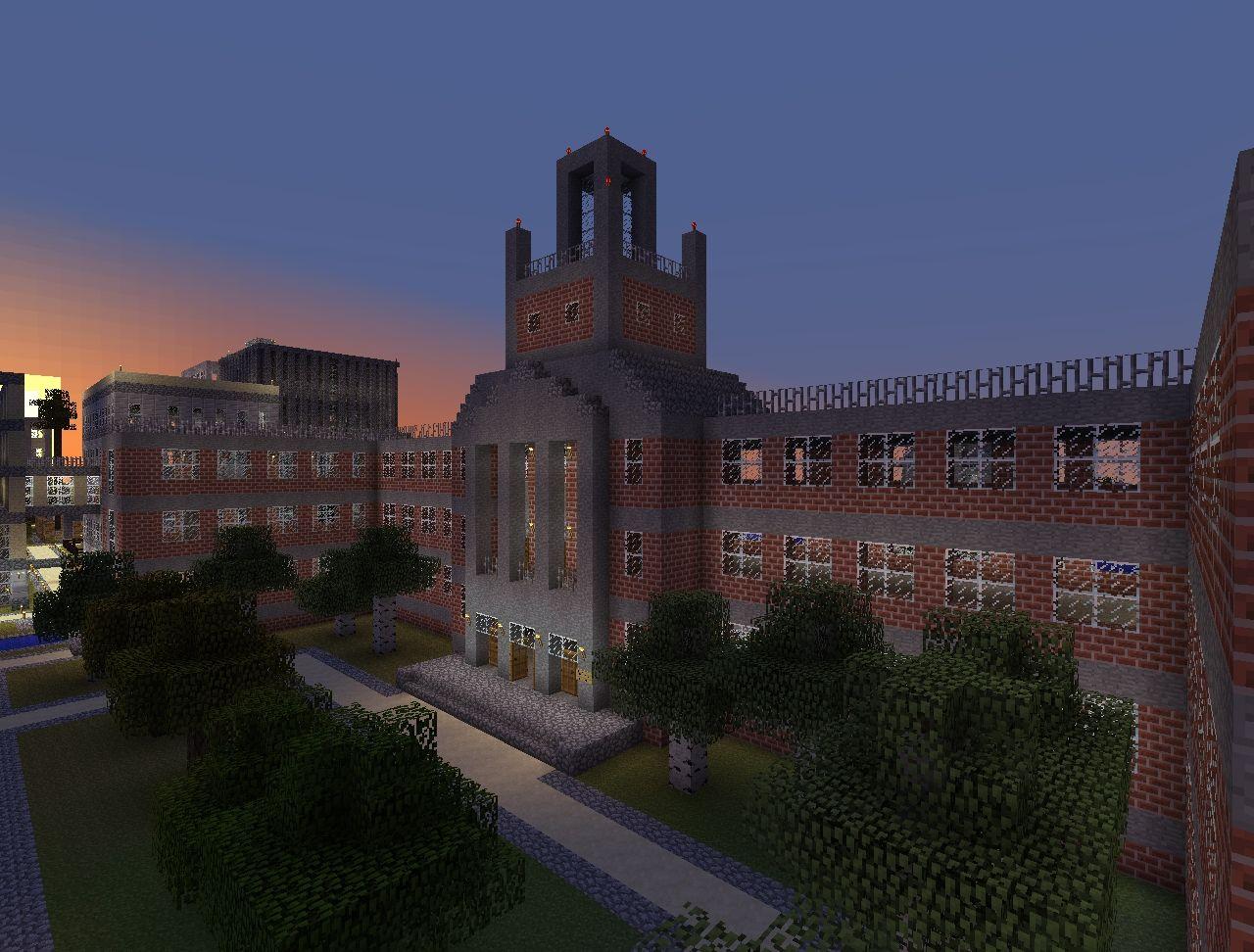 Forest Hills High School Minecraft Project - New york map in minecraft