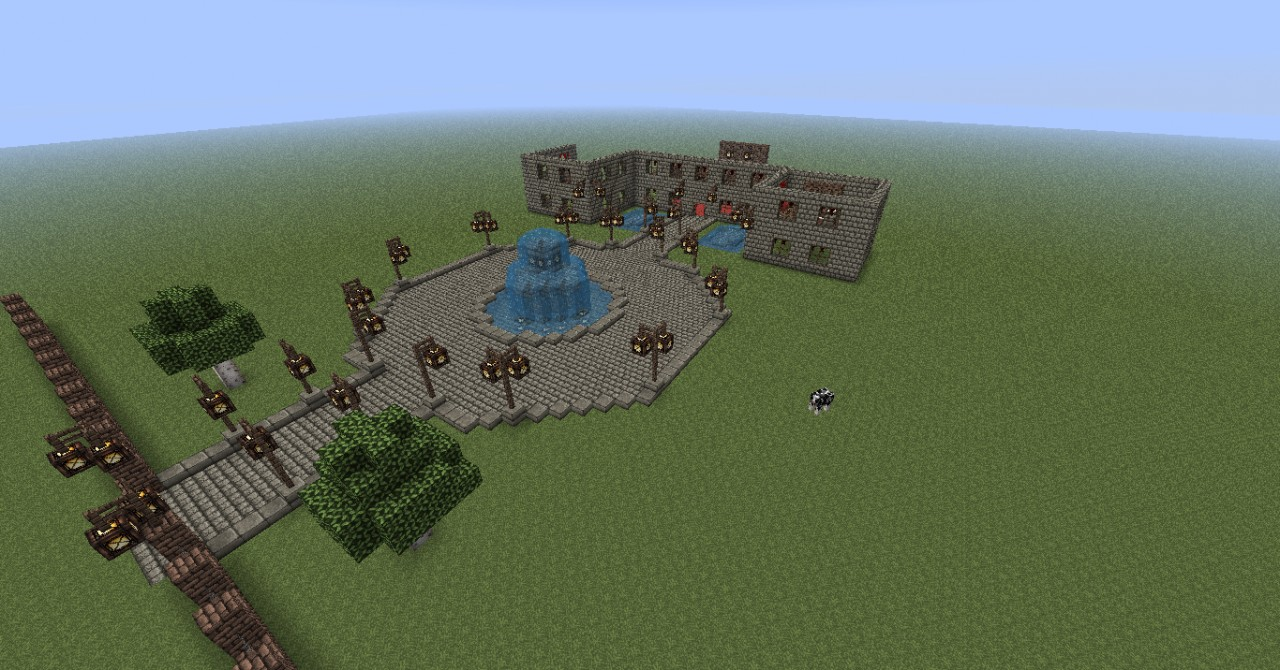 Big Nice House Minecraft Project