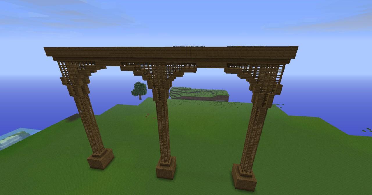 minecraft how to build bridges fast