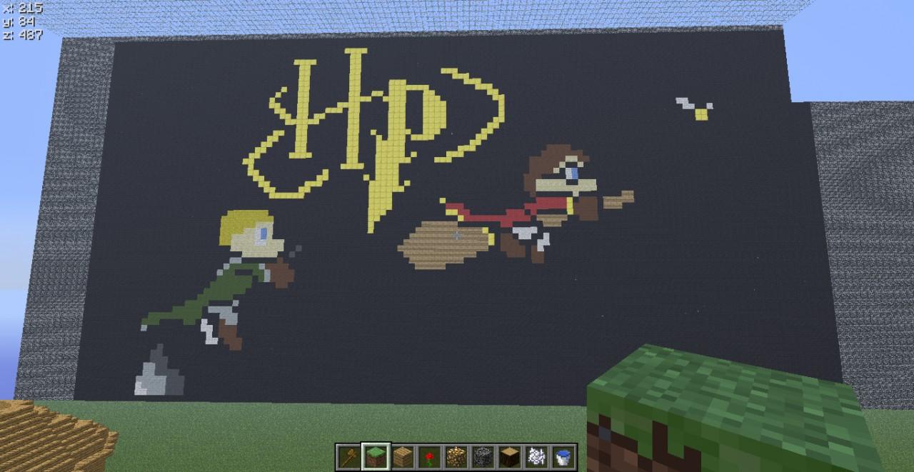 more pixel art on server