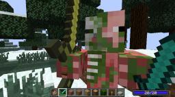 The PigMan Drop Minecraft Mod