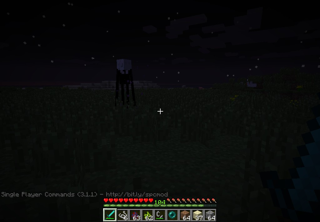 how to kill endermen in minecraft pe