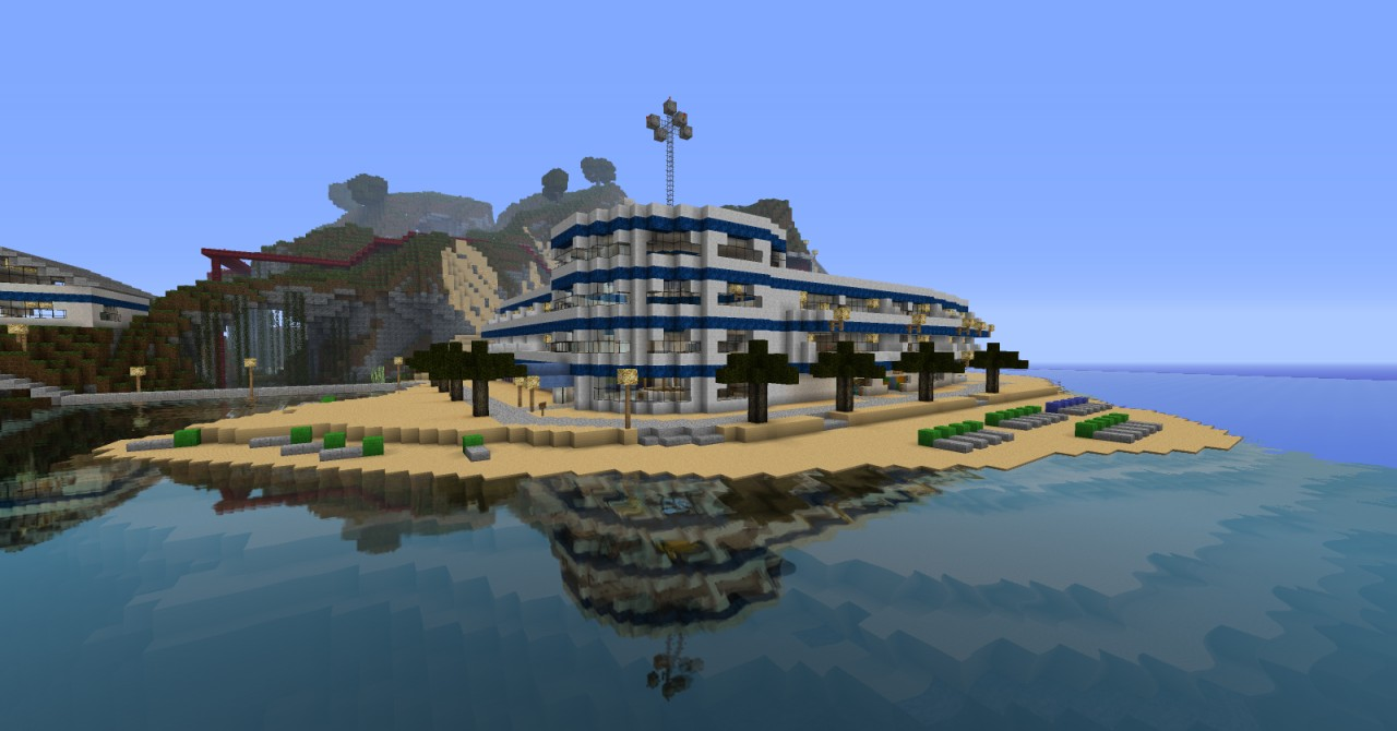 Palm Beach Resort Minecraft Project