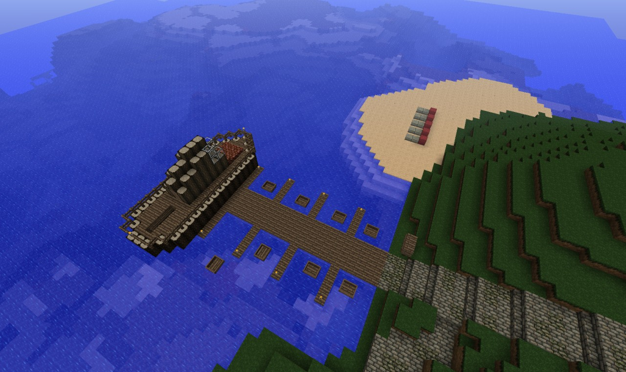 The pier with boats :)
