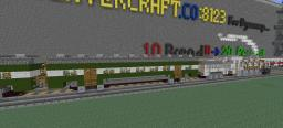 Green Steam Train Minecraft Project