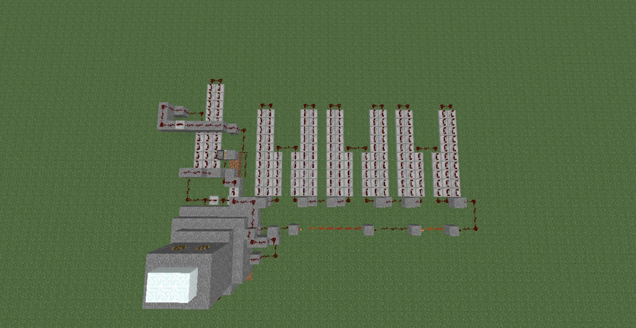 Redstone 1 Minute Timer Minecraft Project