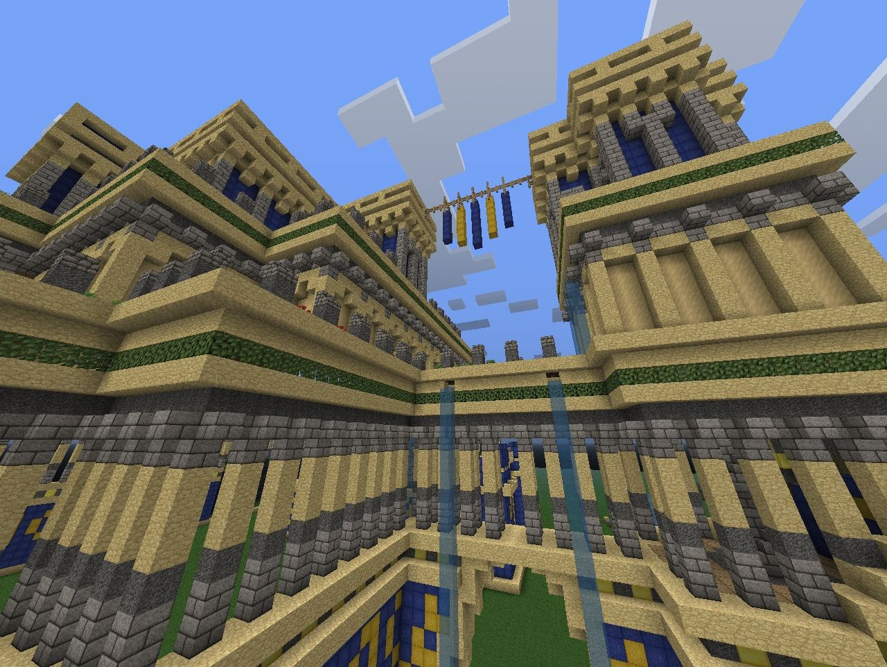 Hanging Gardens Of Babylon Minecraft Project