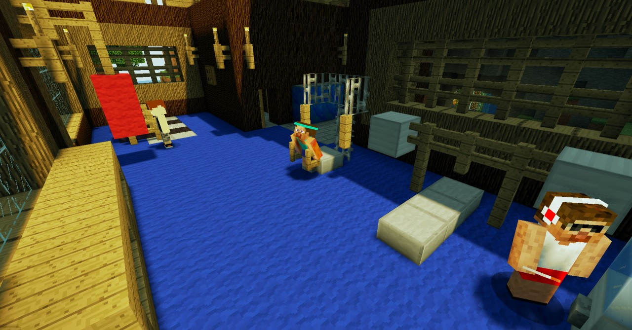 Reverie resort minecraft project