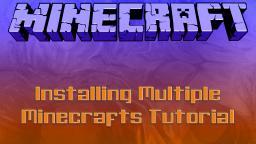 Installing Multiple Minecrafts Tutorial Minecraft Blog
