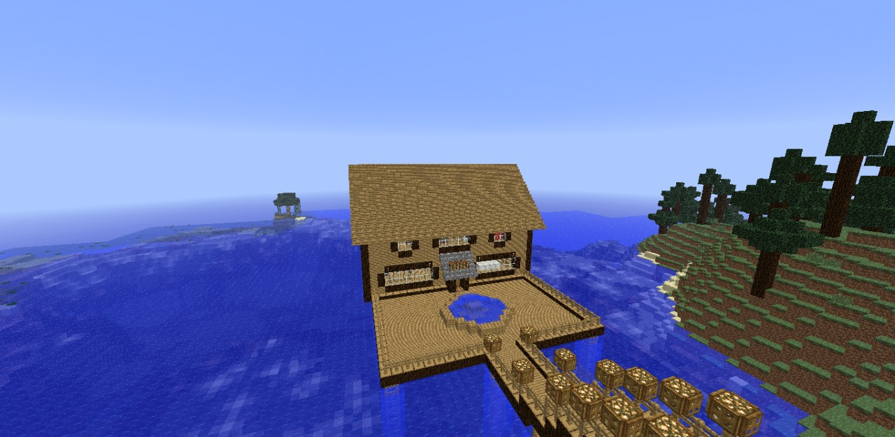 Water Mansion Minecraft Project