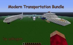 Minecraft Modern Transportation Bundle! [OVER 1000 VIEWS!!!] Minecraft Project