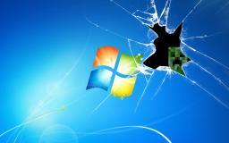 Creeper desktop background Minecraft Blog Post