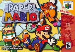 Paper Mario N64 Mushroom Kingdom Minecraft Map