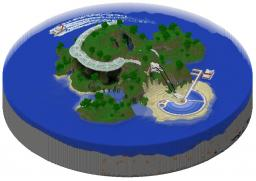 Resort Planet Minecraft Project