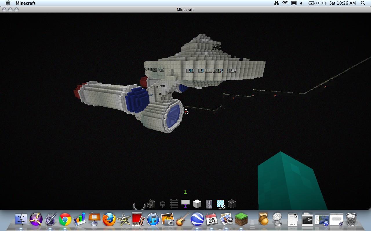 Starship enterprise star trek minecraft project for Star trek online crafting leveling guide