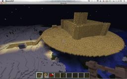 fly castle Minecraft