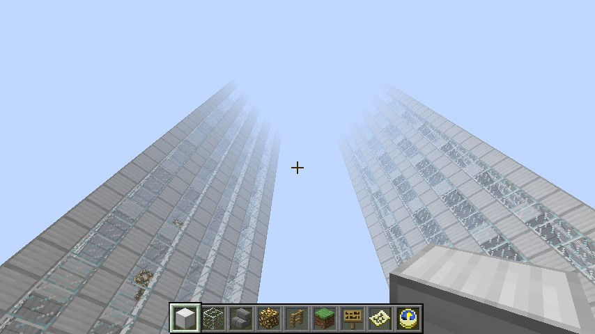 the twin towers minecraft project