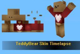 Skin Timelapse: Teddybear By Sneeze7 Minecraft Blog