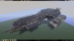 Stargate X-304 Daedalus class space ship replica Minecraft Map & Project