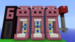 SUPER Pig Powered Slot Machine Minecraft Project