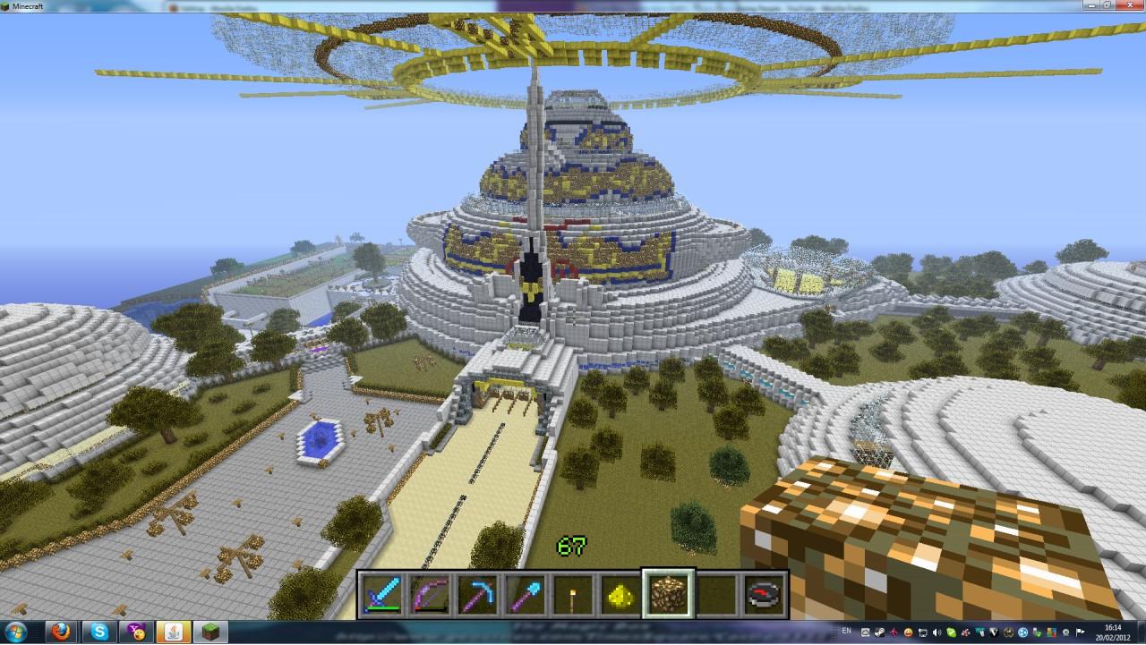 how to build a village garden in minecraft