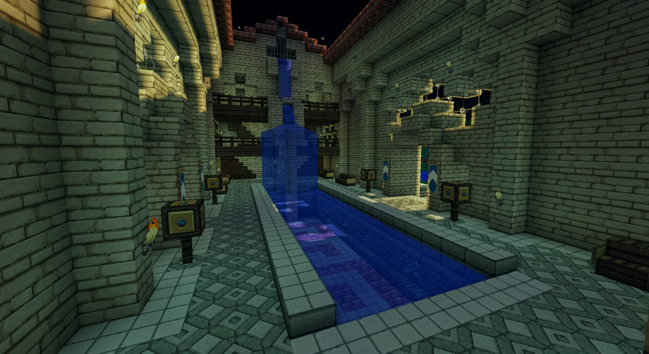 Minecraft Roman Bath House