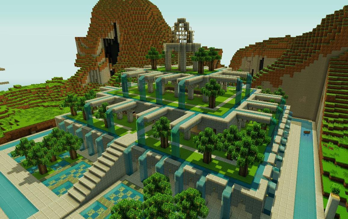 pretty little gardens minecraft project