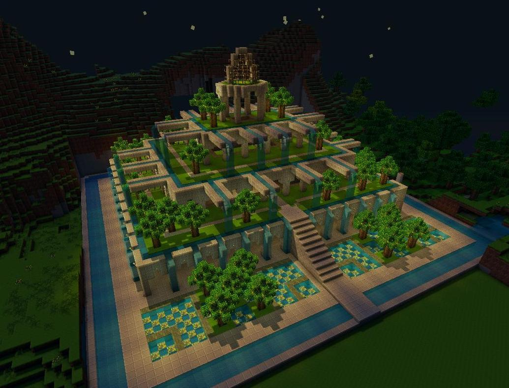 Pretty little gardens minecraft project for Garden designs minecraft