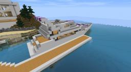 Oceanspeed - Luxury Yacht Vermison Minecraft