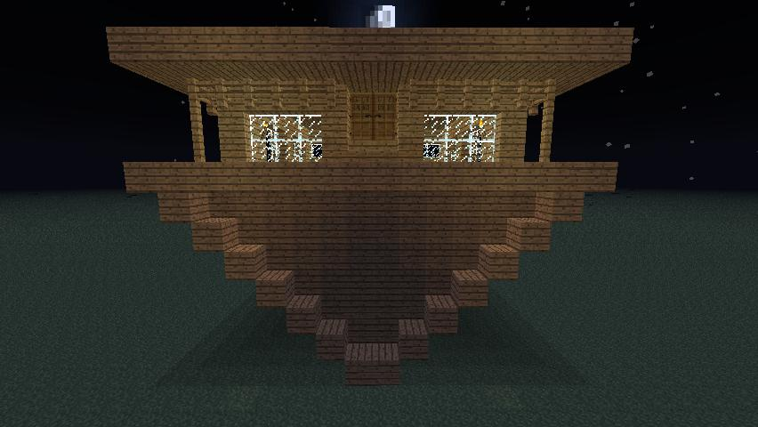 Upside down house :D :) Minecraft Project