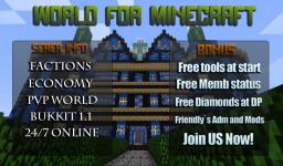LevelsUP 1.4.5 [Factions] [PVP] [MCMMO] [24/7 online] [16GB on 100 mbs/s] [Memb Rank For Free] [Free tool kits] And much more Minecraft Server