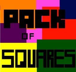 Pack of Squares Minecraft Texture Pack