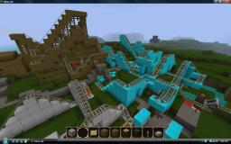 Roller Coaster Tycoon (FunLand inspired amusement park) Minecraft Map & Project