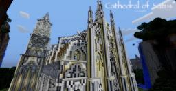 Cathedral of Satus (with schematic) Minecraft Map & Project