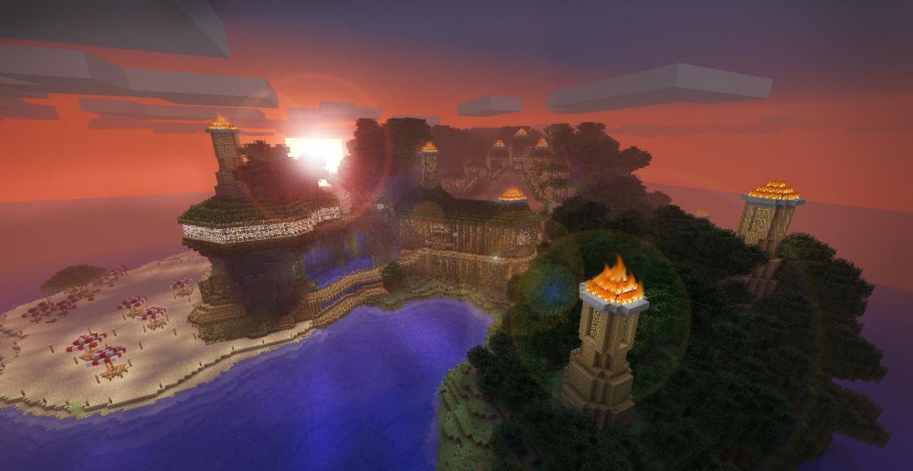 Tiki Isle [Contest] Minecraft Project