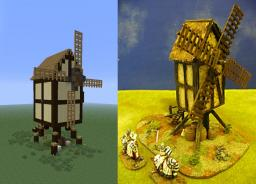 Windmill (stuff for my Adventure map) Minecraft Map & Project