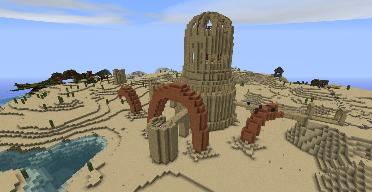 minecraft how to build a desert house