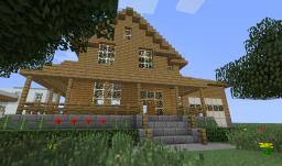 swanky ranch house bachelor pad Minecraft Map & Project