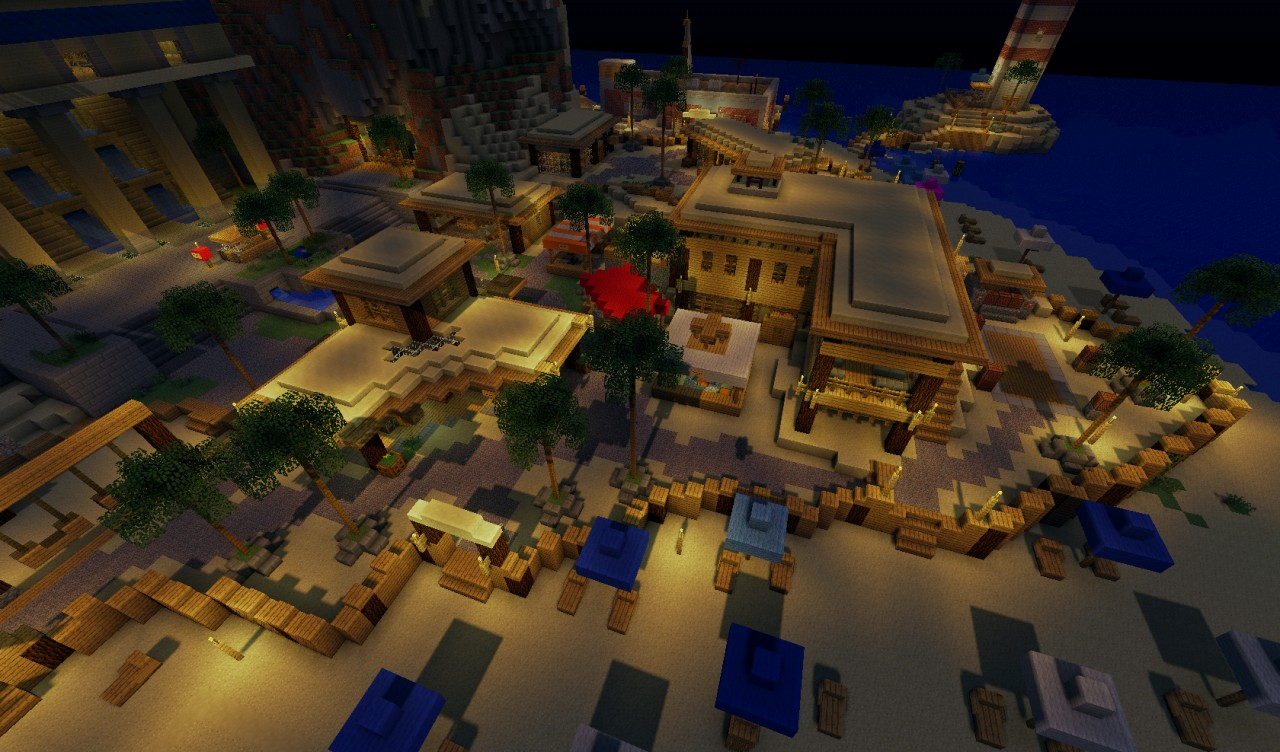 Ivory beach resort minecraft project for Craft com online shopping