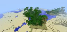 2 npc's and a jungle for 1.2.3 Minecraft Map & Project