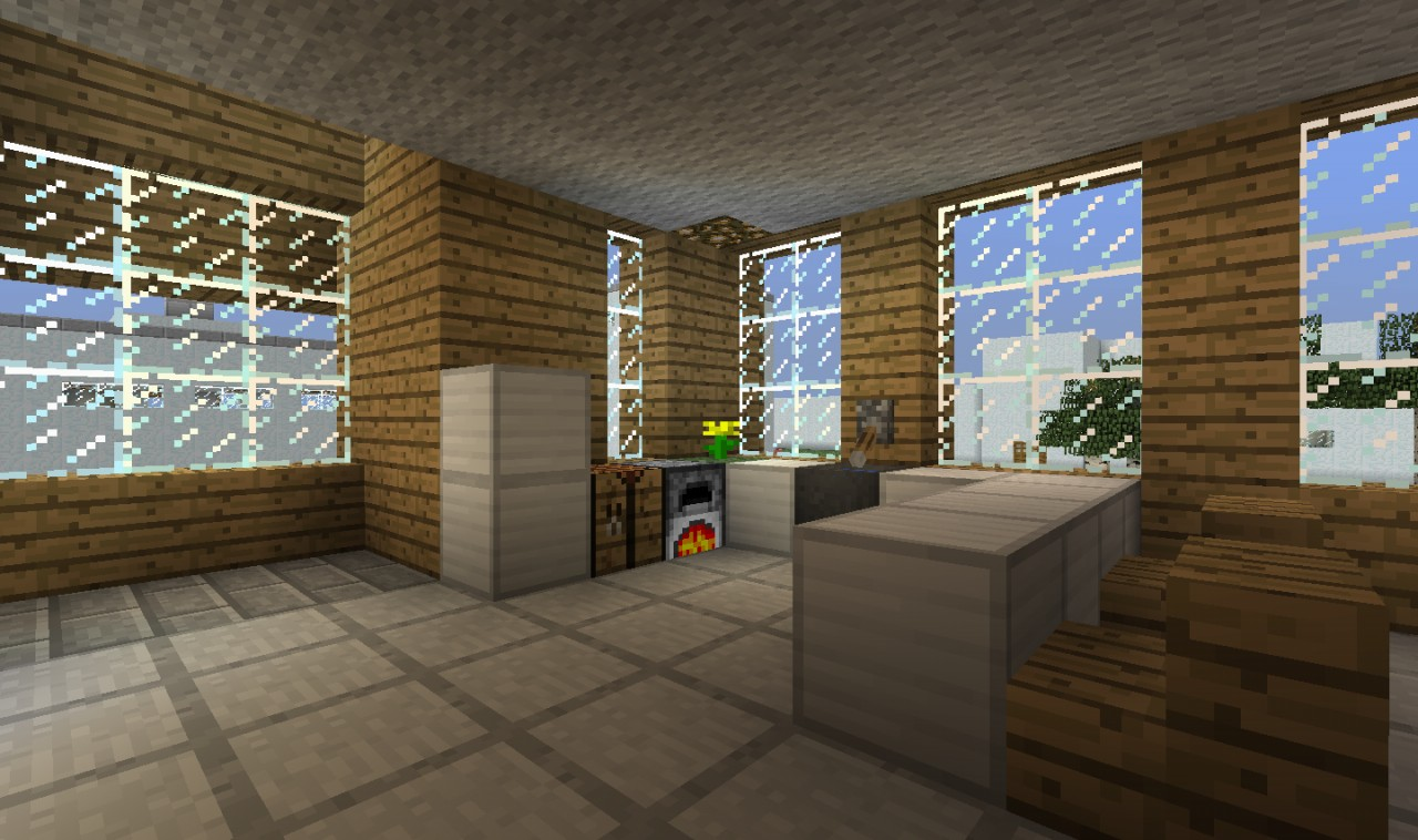 Swanky ranch house bachelor pad minecraft project - Bachelor house ...