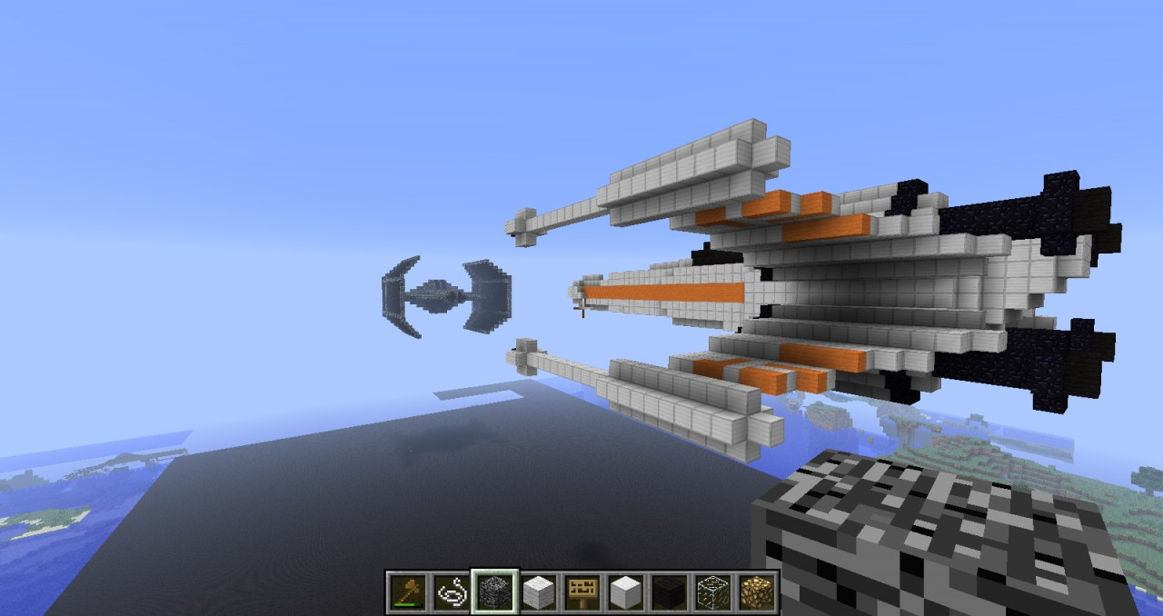 X Wing Minecraft Project