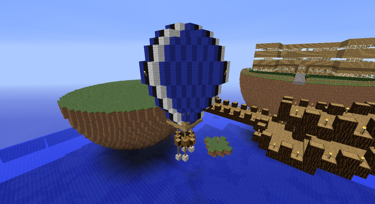 minecraft how to make a balloon