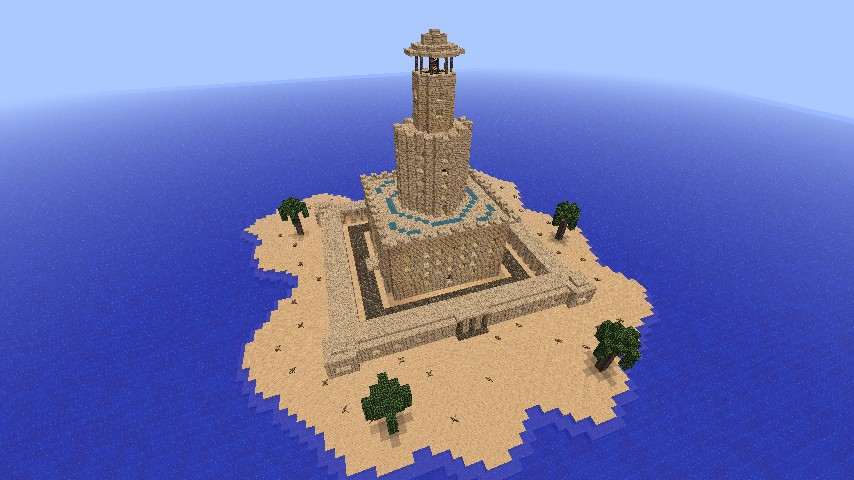 The Lighthouse of Alexandria- With Download! Minecraft Project