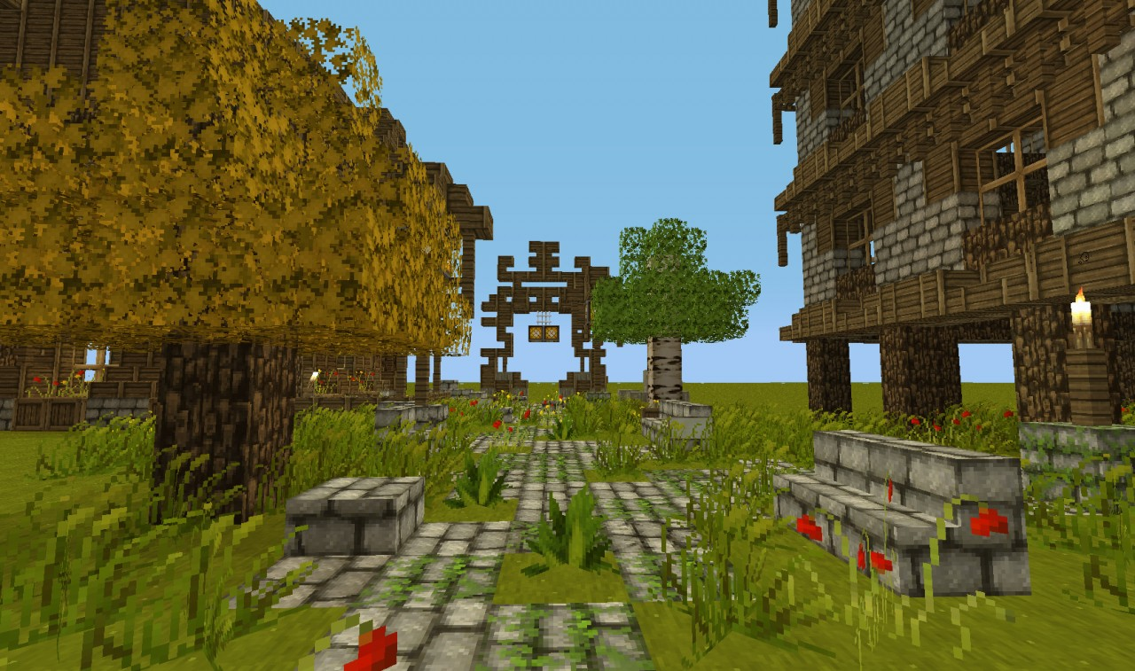 Sunshine-The old village Minecraft Map