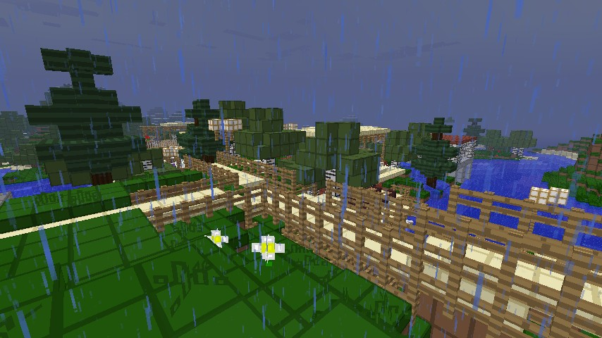 VIEW OF THE TOWN!