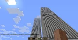 (first Impression) World Trade Center Twin Towers Only Minecraft Map & Project
