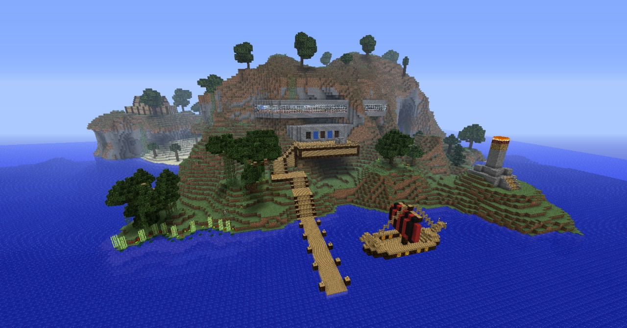 Pumpkin resort minecraft island resort project contest for Show pool post expert ng best forum