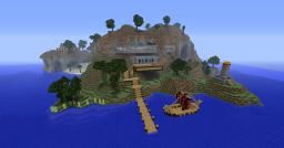Pumpkin Resort - Minecraft Island Resort Project Contest Minecraft Map & Project
