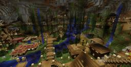 Underground City Minecraft